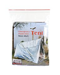 Fosco emergency tent zilver