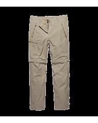 Vintage Industries Minford Technical zip-off pants beige