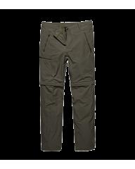 Vintage Industries Minford Technical zip-off pants tan