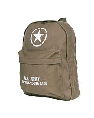Fostex kinder rugzak U.S. Army groen