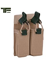 TF-2215 Double pistol pouch Coyote