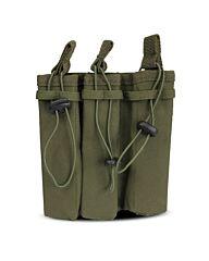 101Inc Molle pouch Sidearm 3 Mag. B groen
