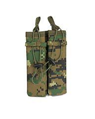 101Inc Molle pouch Sidearm 2 Mag. C digital WDL camo