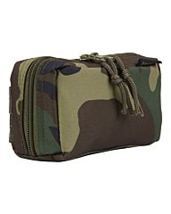 101inc Molle pouch Shot Shell CO2 woodland camo