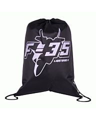 101inc Drawstring Bag F-35 zwart