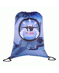 101inc Drawstring Bag F-35 blauw