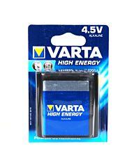 Varta batterij 4,5 volt plat
