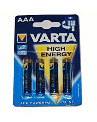 Varta batterijen AAA-cell