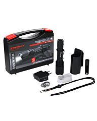 PowerTac Zaklamp Tactical Warrior-R Kit zwart