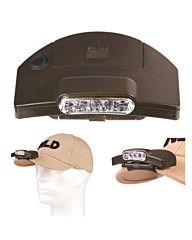 Fosco 5LED cap clip-on hoofdlamp groen