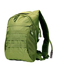 101inc Waterpack + 3 liter bladder groen