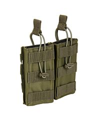 101Inc Molle pouch Mag. open F groen