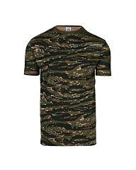 Fostee camouflage t-shirt tigerstripe camo