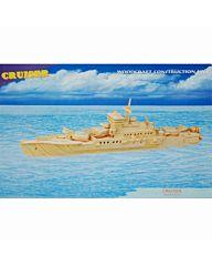 Houten bouwpakket Cruiser boot