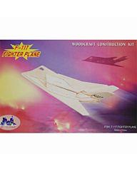 Houten bouwpakket F-117 vliegtuig