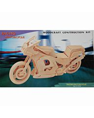 Houten bouwpakket Racing motor