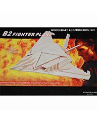 Houten bouwpakket B2 fighter plane