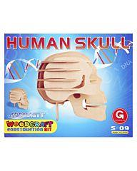 Houten bouwpakket Skull S-09