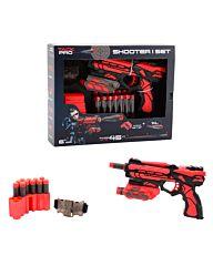 Tack Pro Shooter 18cm + 14 pijlen