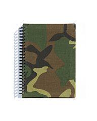 Notitieboek A5 woodland camo