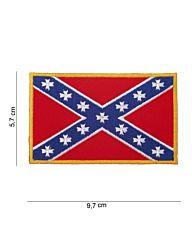 Embleem stof Rebel Vlag