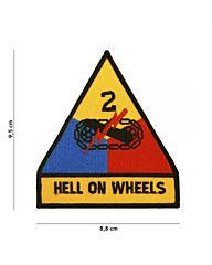 Embleem Hell On Wheels stof