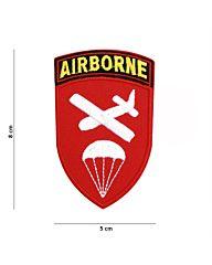 Embleem Airborne Command stof