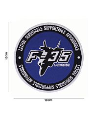 Embleem stof F-35 Lightning