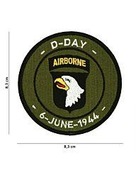 Embleem D-Day 101st Airborne stof