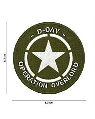 Embleem D-Day Allied Star stof