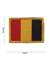 Embleem Belgie stof+klittenband