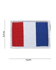 Embleem Frankrijk stof+klittenband