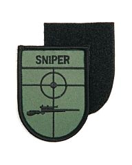 Embleem Sniper (schild) stof+klittenband