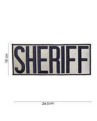 Embleem Sheriff groot stof