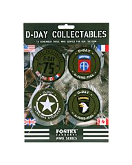 Embleem assorti D-Day collectables