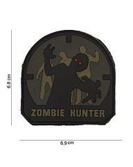 Embleem 3D PVC ACU-A Zombie Hunter