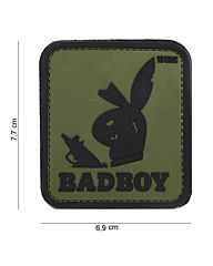Embleem 3D PVC Badboy groen