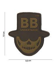 Embleem 3D PVC BB Undertaker bruin