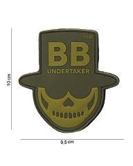 Embleem 3D PVC BB Undertaker groen