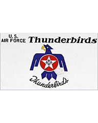 vlag U.S. Airforce Thunderbirds