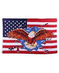 vlag USA Adelaar