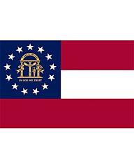 vlag Georgia