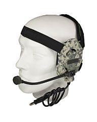 101inc Bowman EVO III Headset camo Z029 digital ACU camo