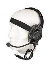 101inc Bowman EVO III Headset camo Z029 skull zwart