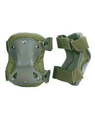101inc Knie beschermers in net groen