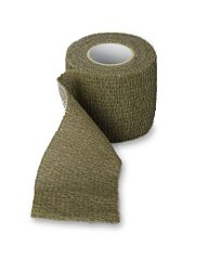 Fosco stretch bandage groen
