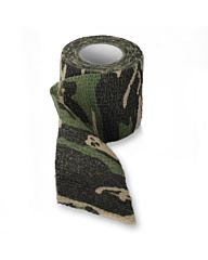 Fosco stretch bandage woodland camo