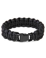 Paracord bracelet K2015 8inch zwart