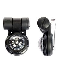 101inc VIP light helmet mount / adapter EX079 zwart