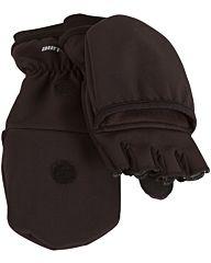 Life-Line Cortland softshell gloves zwart